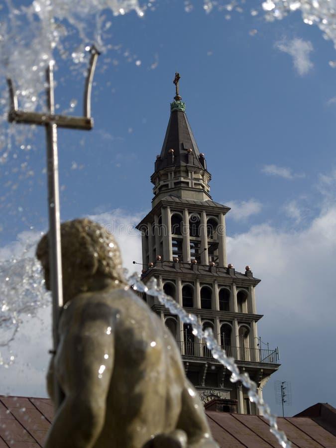 Kathedrale-Str. Nicolaus lizenzfreies stockbild