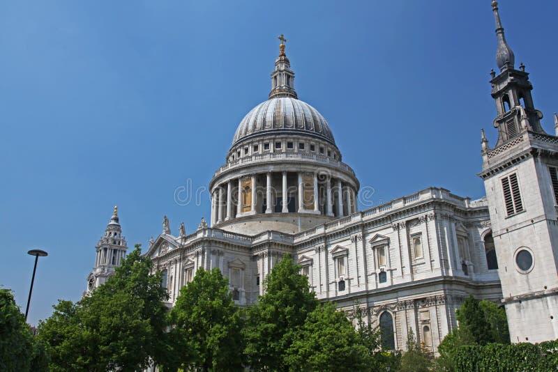 Kathedrale Str.-Pauls in London lizenzfreies stockfoto