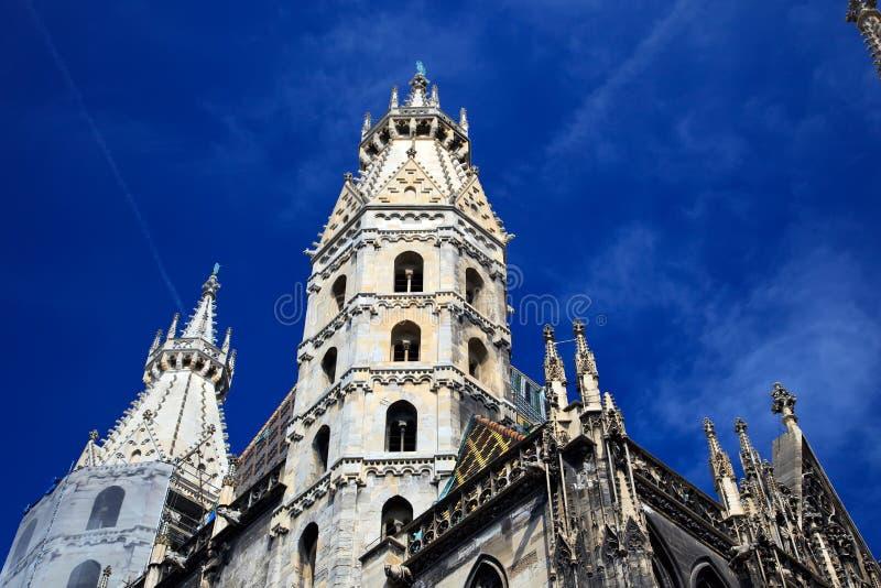 Kathedrale Str.-Stephan in Wien, Österreich lizenzfreie stockfotos