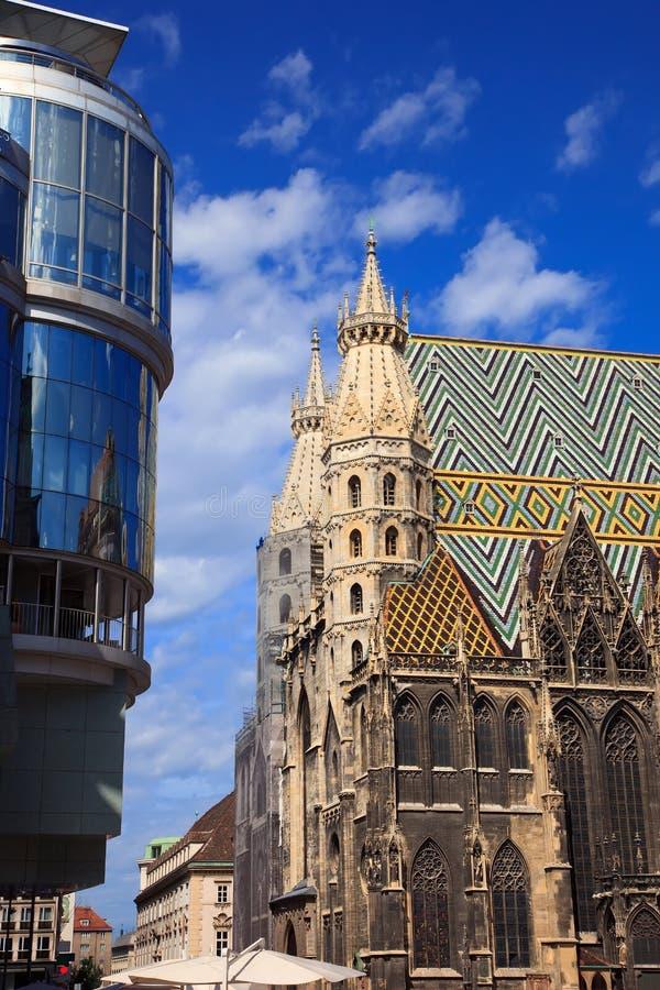 Kathedrale Str.-Stephan in Wien stockfoto