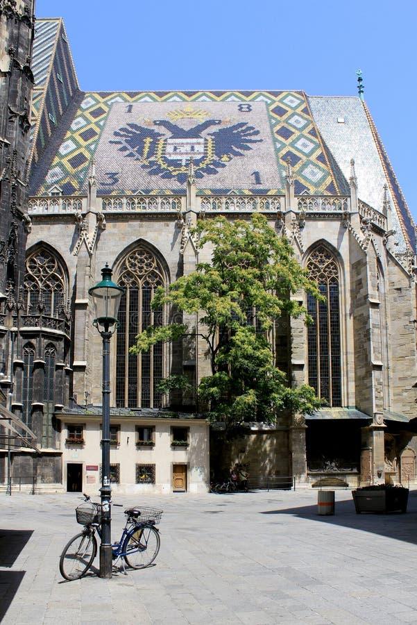 Kathedrale Str.-Stephan in Wien lizenzfreie stockfotos
