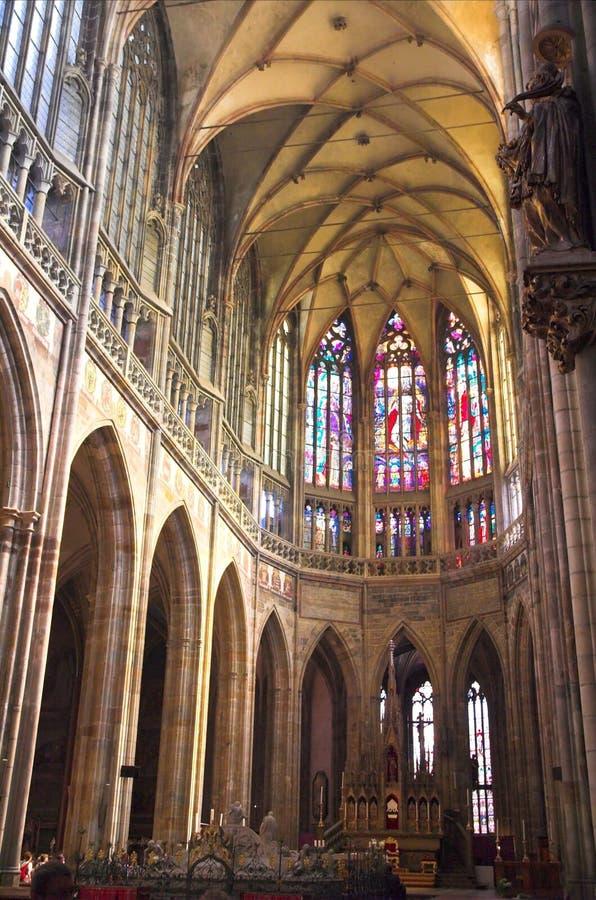 Kathedrale Str.-Vitus, Prag lizenzfreies stockfoto