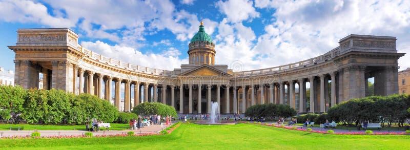 Kathedrale unserer Dame von Kazan, St Petersburg stockfoto