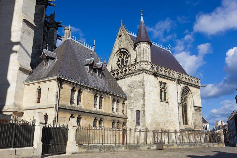 Kathedrale von Amiens stockfotografie