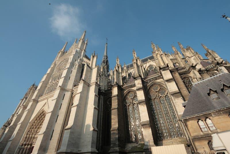 Kathedrale von Amiens lizenzfreie stockfotos