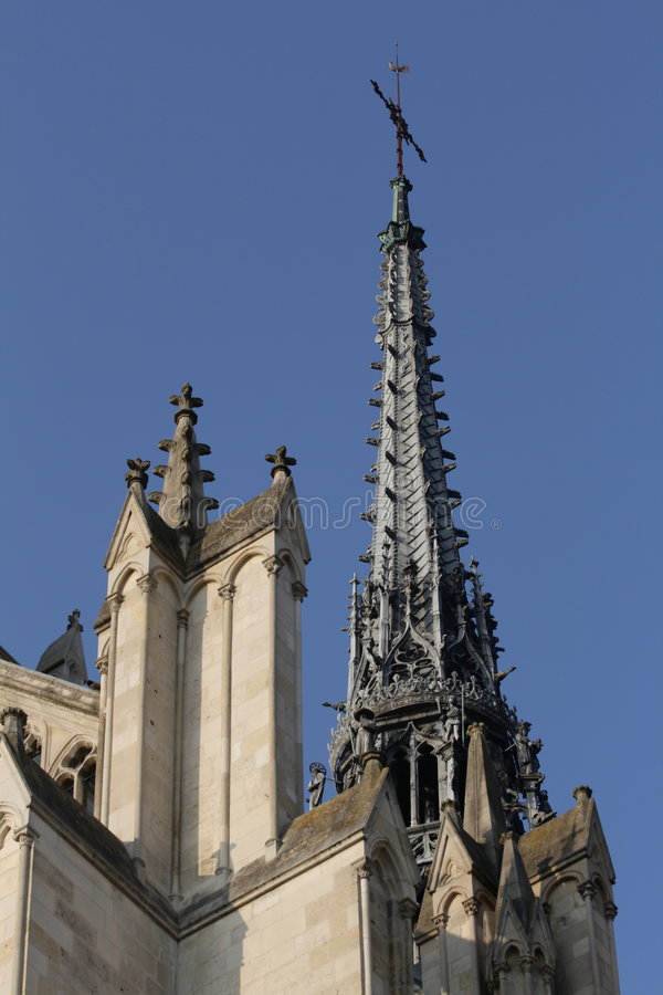 Kathedrale von Amiens stockbild