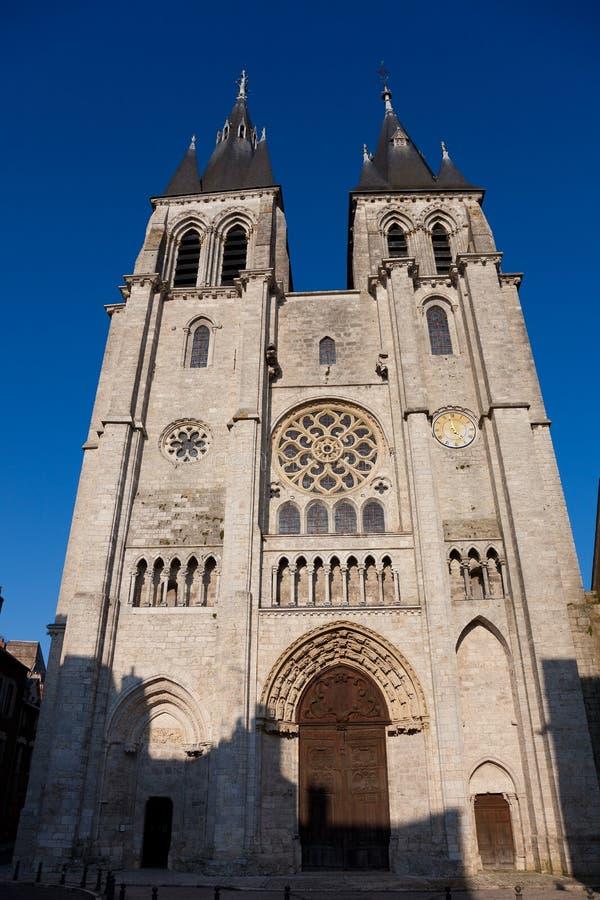 Kathedrale von Blois stockbilder