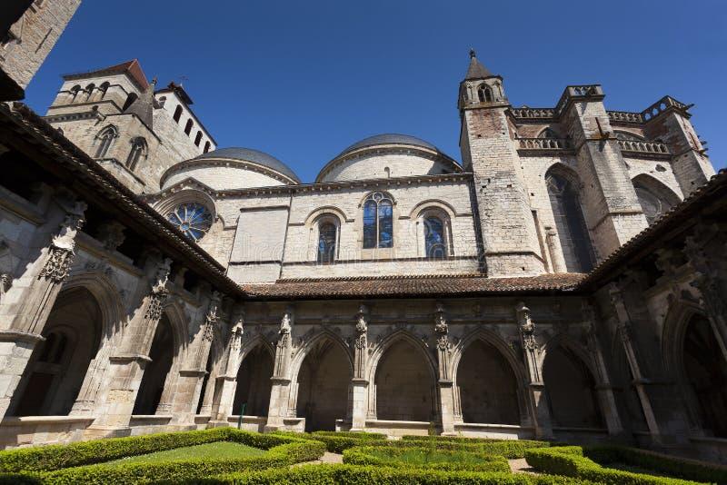 Kathedrale von Cahors lizenzfreie stockbilder