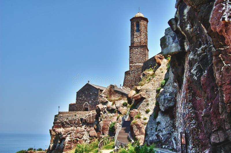 Kathedrale von Castelsardo stockbild