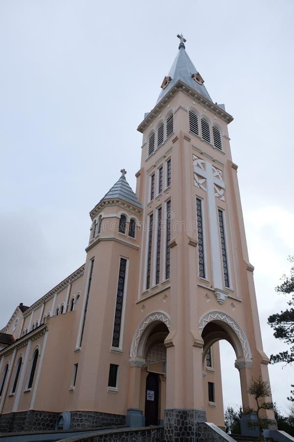 Kathedrale von DA-Lat lizenzfreie stockfotografie