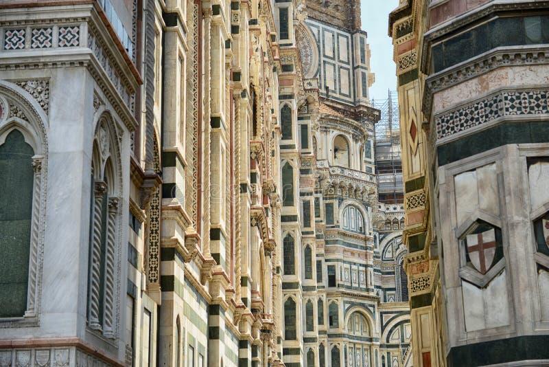 Kathedrale von Florenz-Sonderkommando stockfoto