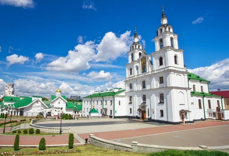 Kathedrale von Heiliger Geist in Minsk lizenzfreies stockbild