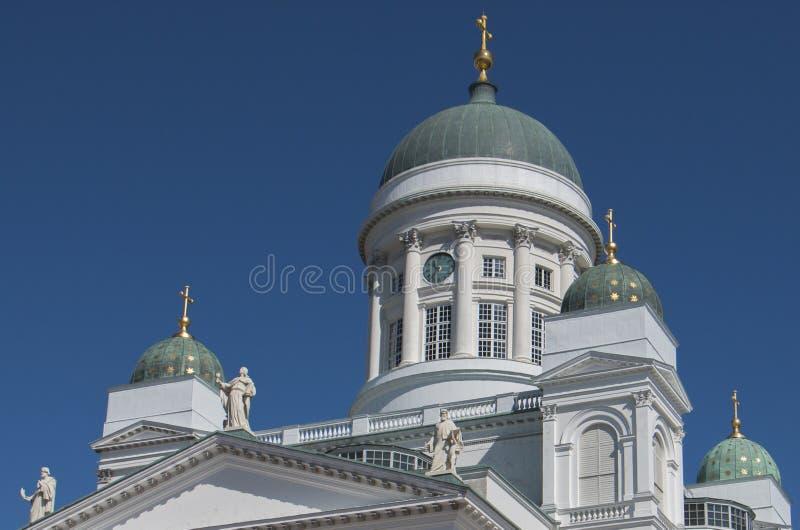 Kathedrale von Helsinki stockbilder