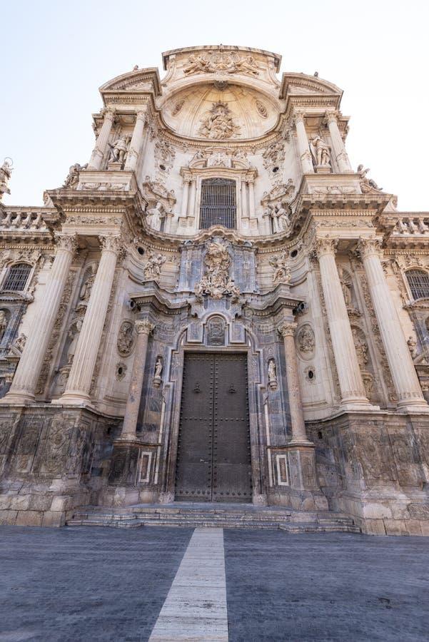 Kathedrale von Jahrhundert Santa Marias XIV, Murcia, Spanien lizenzfreie stockfotos