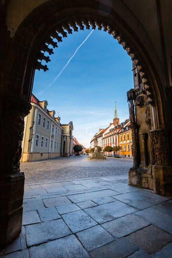 Kathedrale von Johannes der Baptist in Breslau, Polen stockfotos
