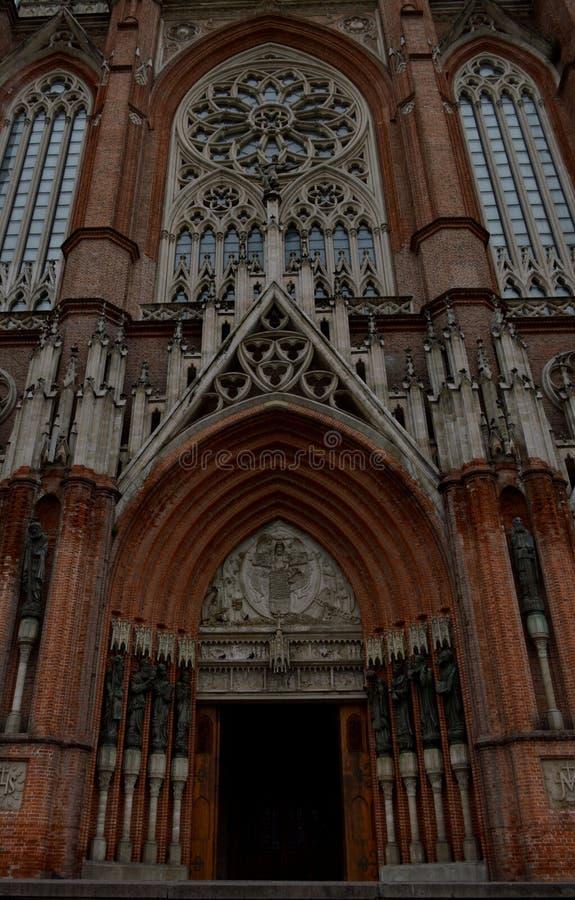 Kathedrale von La Plata stockfotos