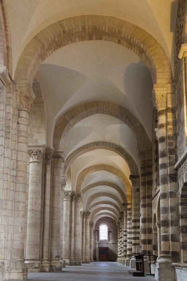 Kathedrale von Le Mans stockbild