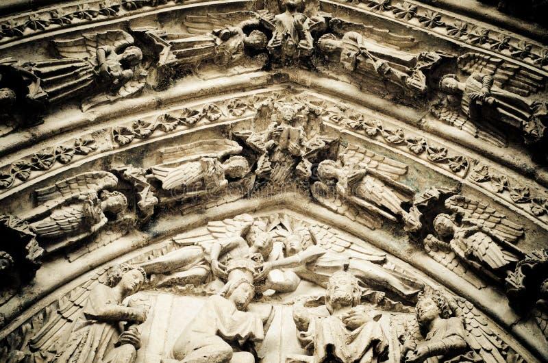 Kathedrale von Leon stockbilder