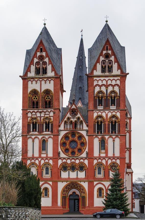Kathedrale von Limburg, Deutschland lizenzfreie stockfotografie