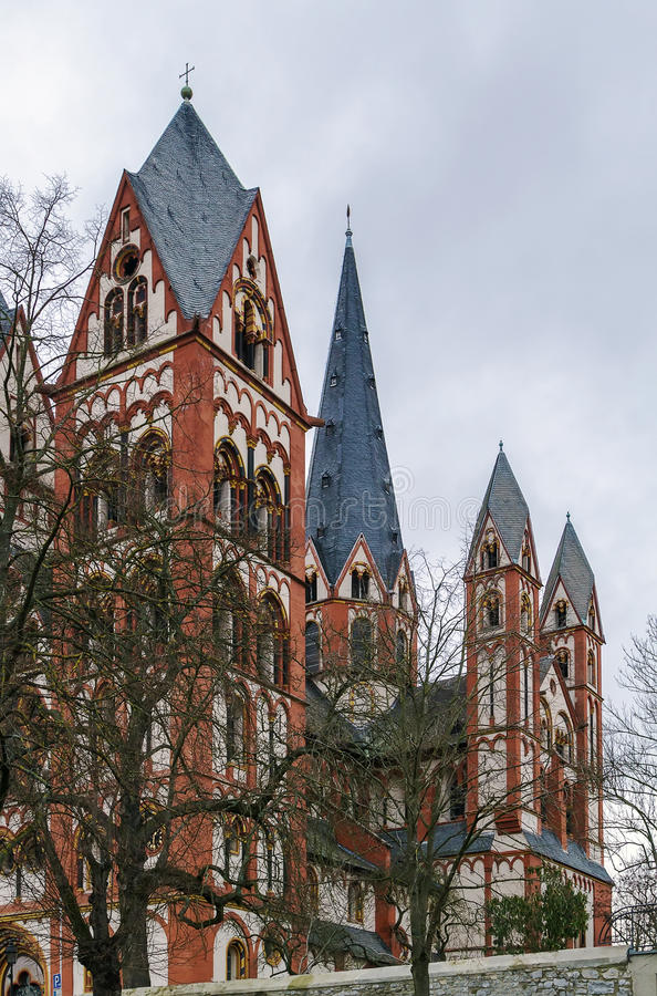 Kathedrale von Limburg, Deutschland stockfoto