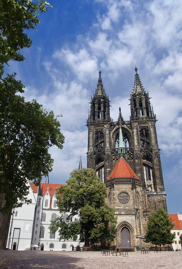 Download Kathedrale von Meissen stockfoto. Bild von gebäude, sachsen - 27732618