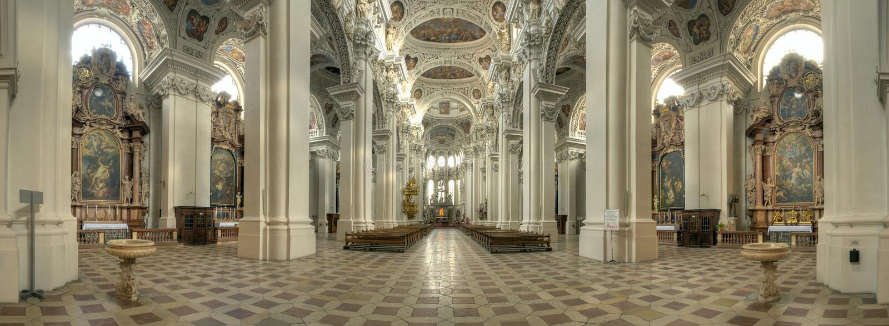 Kathedrale von Passau stockfoto
