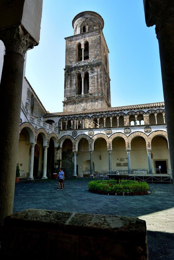 Kathedrale von Salerno stockfotografie