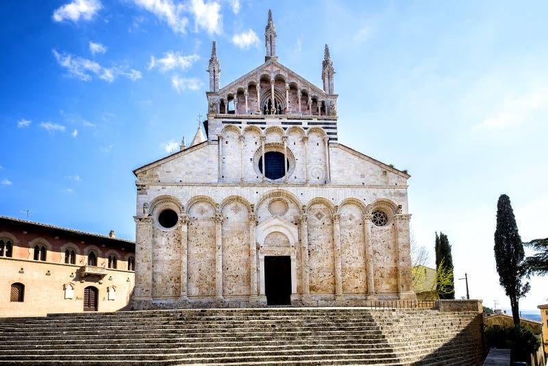 Kathedrale von San Cerbone, Massa Marittima, Grosseto Italien lizenzfreie stockfotografie