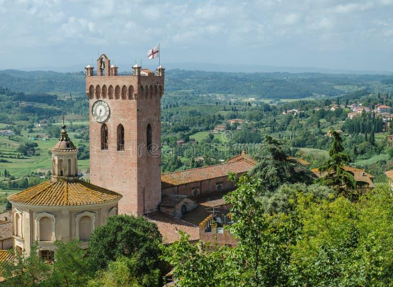 Kathedrale von Santa Maria Assunta, San Miniato (tus lizenzfreies stockbild