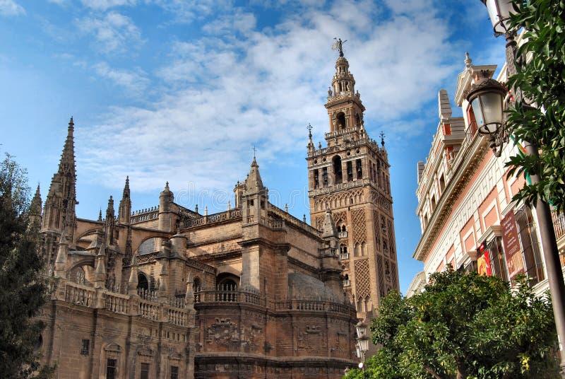 Kathedrale von Sevilla lizenzfreies stockfoto