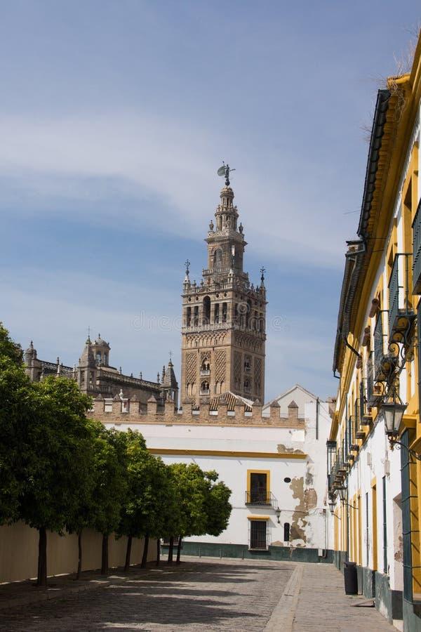 Kathedrale von Sevilla stockbilder
