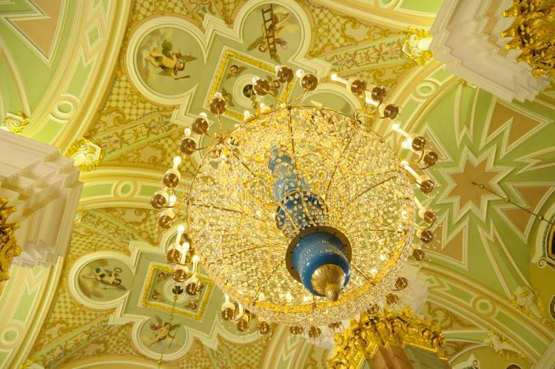 Kathedrale von Str. Peter und Paul, St Petersburg stockbilder