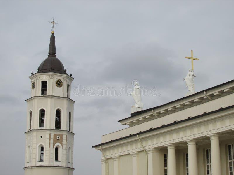 Kathedrale von Vilnius stockfotografie