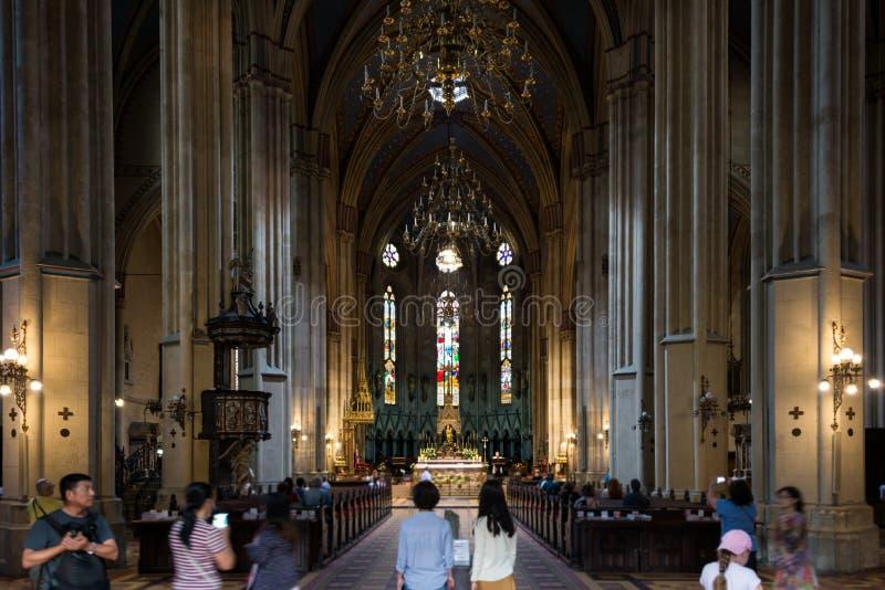 Kathedrale von Zagreb, Kroatien stockfotografie