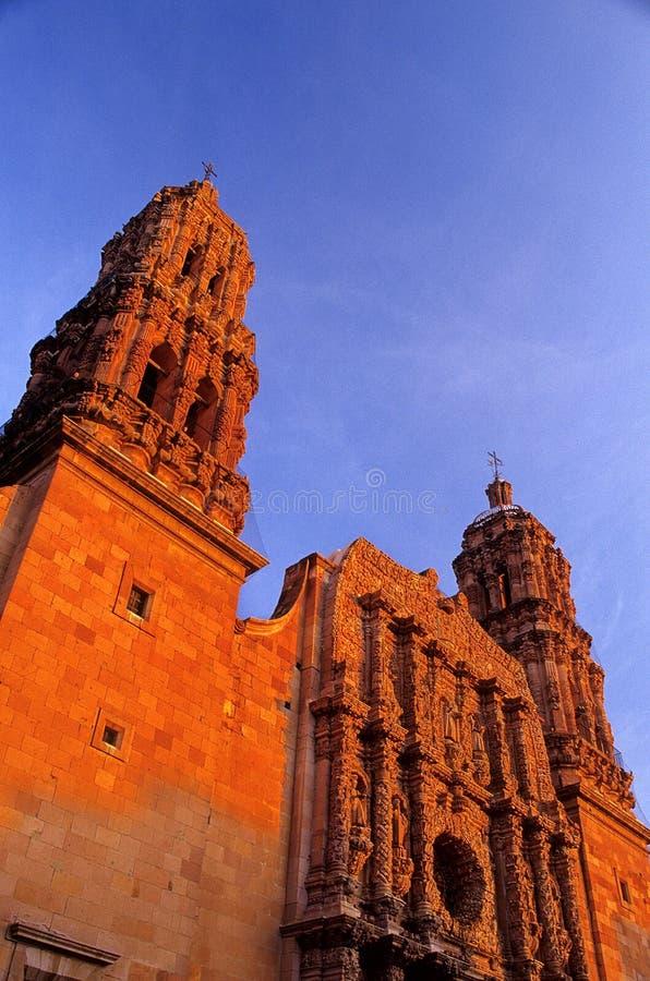 Kathedrale Zacatecas, Mexiko lizenzfreies stockfoto