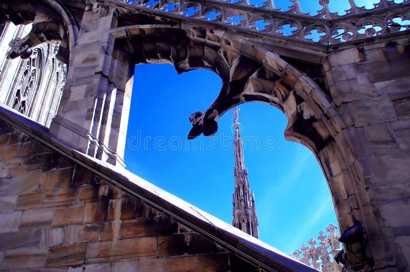 Kathedraledach 1 lizenzfreie stockbilder