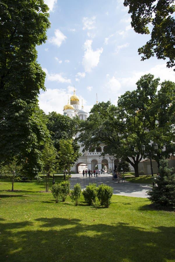 Kathedralen des Kremls in Moskau lizenzfreies stockbild