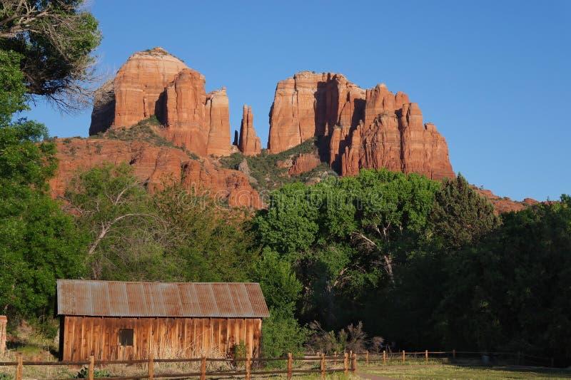 Kathedralen-Felsen stockbilder