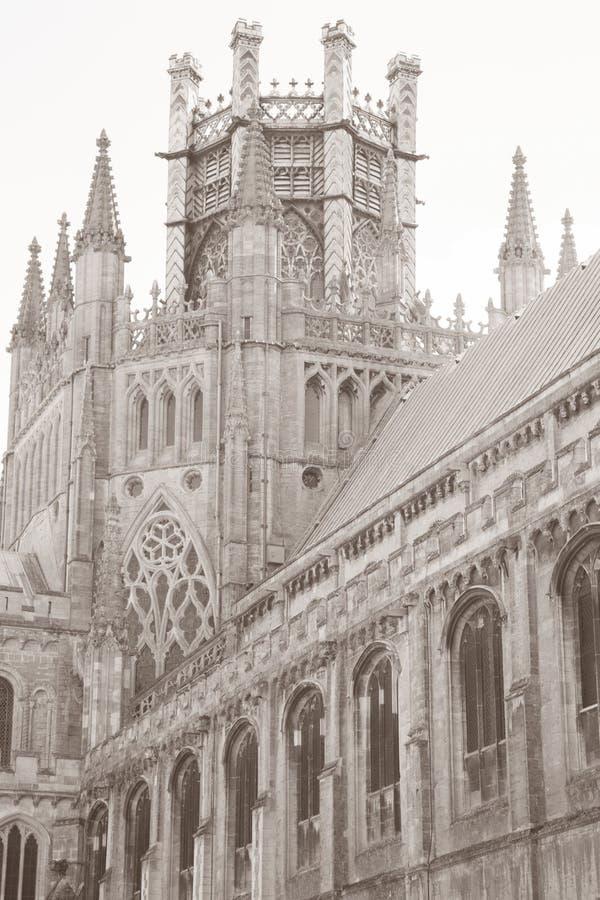 Kathedralen-Kirchturm, Ely; Cambridgeshire; England; Großbritannien stockfoto