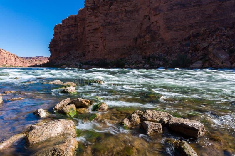 Kathedralen-Wäsche-Spur in Arizona stockfotografie