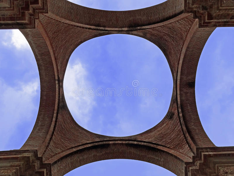 Kathedralende Santiago lizenzfreie stockfotografie