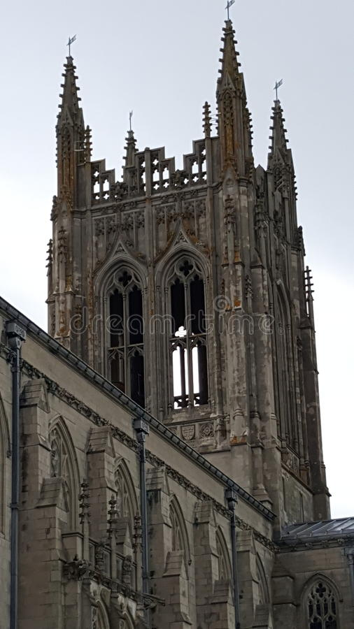 Kathedralenturm stockfotos