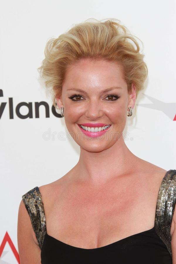 Katherine Heigl at the AFI Life Achievement Award Honoring Shirley MacLaine, Sony Pictures Studios, Culver City, CA 06-07-12 royalty free stock photos
