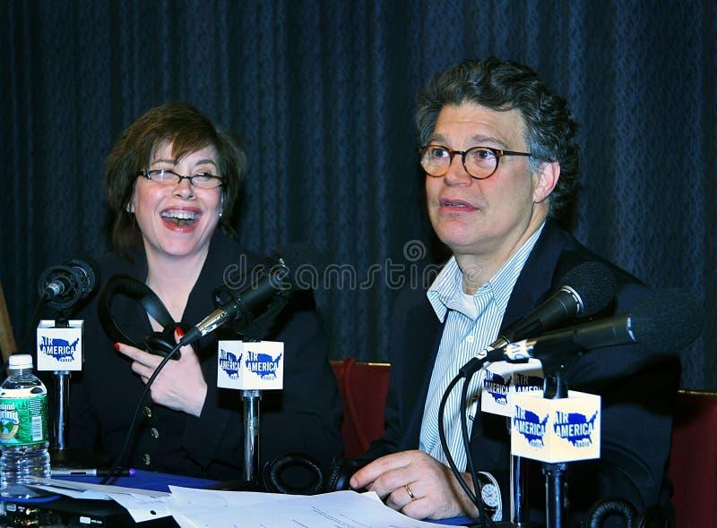 Katherine Lanpher Franken i Al zdjęcia stock