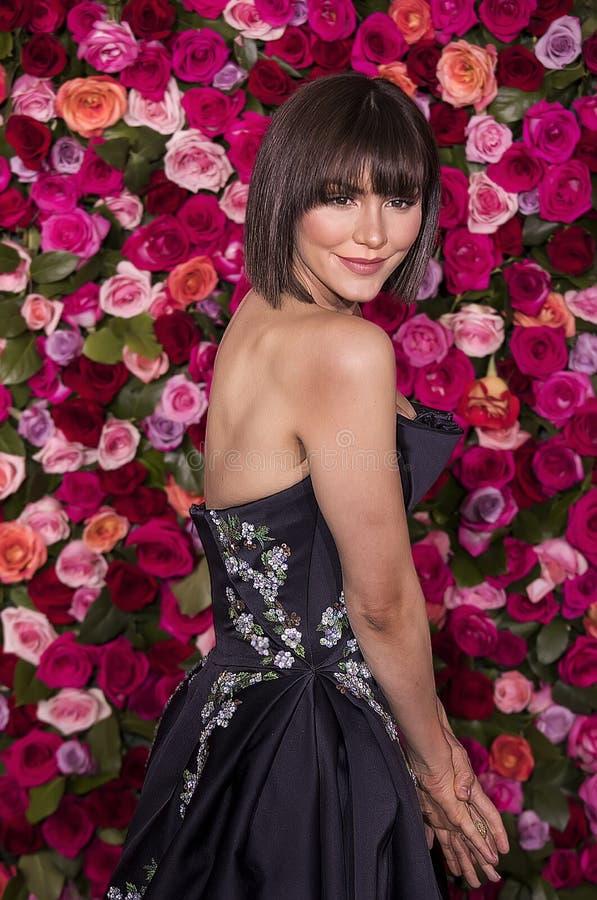 Katherine McPhee en Tony Awards imágenes de archivo libres de regalías