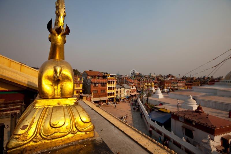 Kathesimbhu Stupa fotografía de archivo