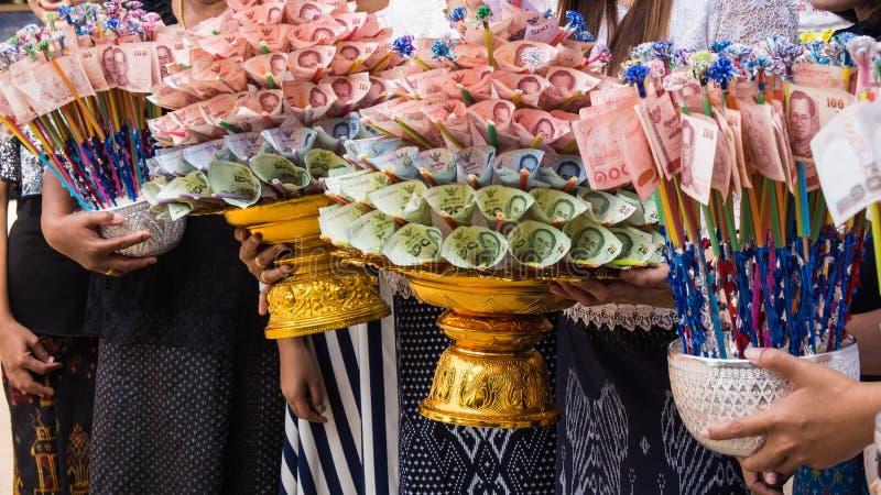 Kathin Jaarlijkse Ceremonie royalty-vrije stock foto's