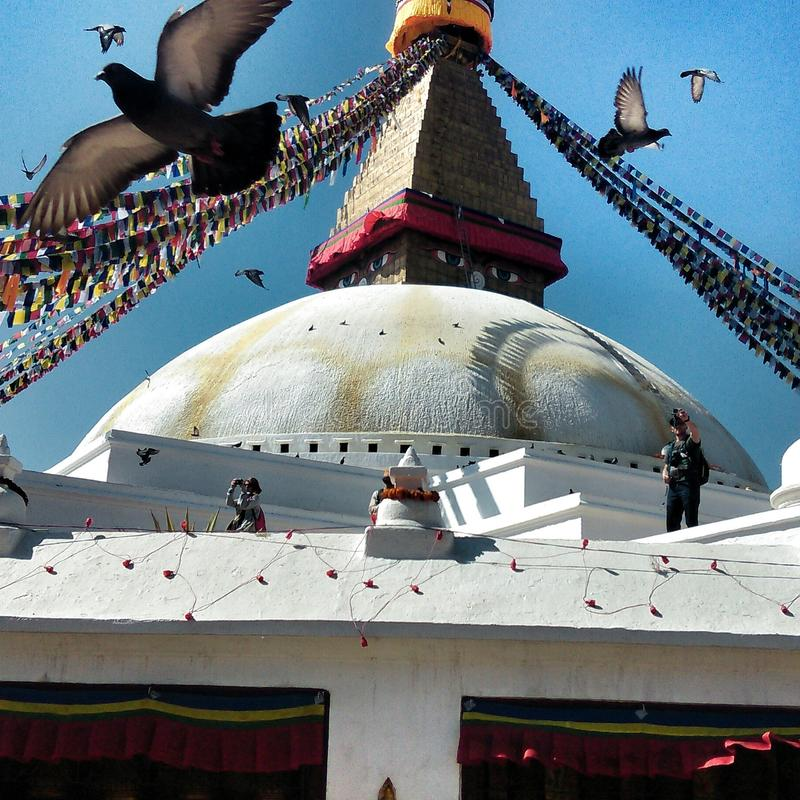 kathmandu zdjęcia royalty free