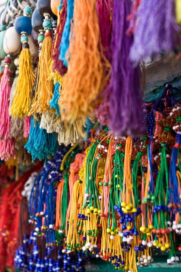 Kathmandu barwił rynek fotografia stock