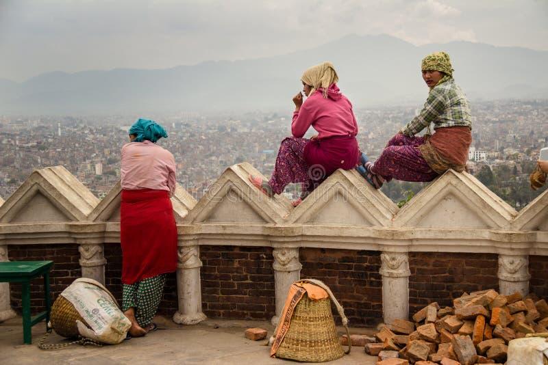 Kathmandu Building royalty free stock photo